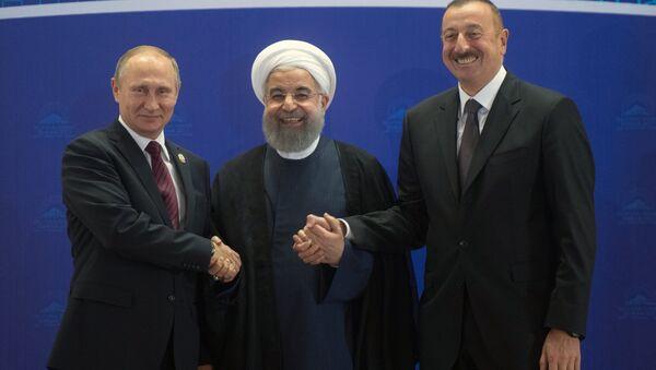Рабочий визит президента РФ В. Путина в Иран - Sputnik Azərbaycan