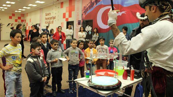 Baku City Circuit устроила праздник для детей-сирот - Sputnik Азербайджан