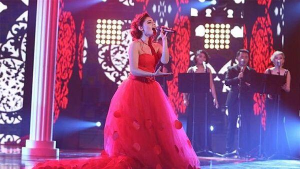 Азербайджанская певица Самира Эфенди - Sputnik Азербайджан