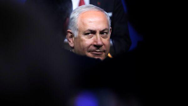 Премьер-министр Израиля Биньямин Нетаньяху, фото из архива - Sputnik Азербайджан
