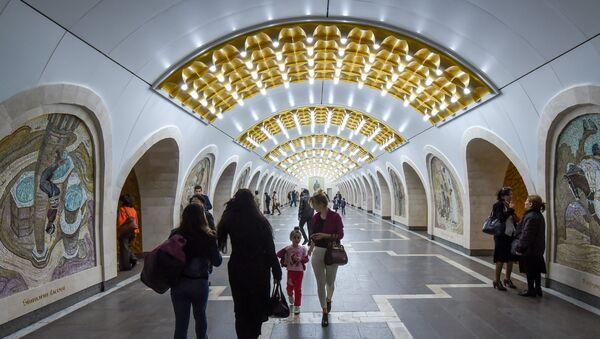 Nizami stansiyasının vestibülü - Sputnik Azərbaycan