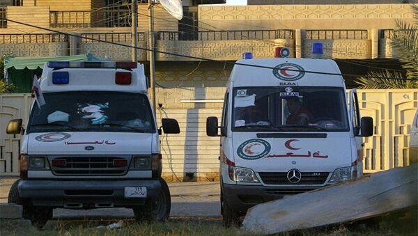 Машина скорой помощи в Ираке, фото из архива - Sputnik Азербайджан