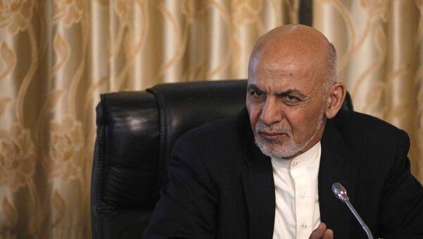 Президент Афганистана Ашраф Гани, фото из архива - Sputnik Азербайджан