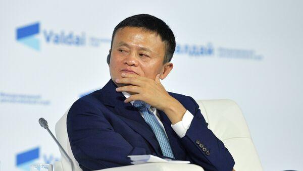 Председатель совета директоров компании Алибаба Груп Джек Ма - Sputnik Азербайджан