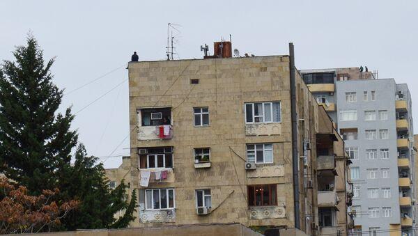 Жилой дом в Ясамале - Sputnik Азербайджан