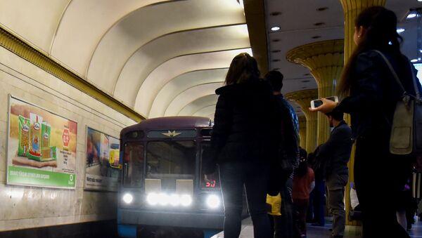 Станция метро Нариман Нариманов - Sputnik Azərbaycan