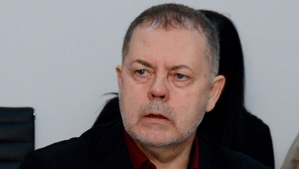 Григорий Трофимчук, первый вице-президент Центра моделирования стратегического развития - Sputnik Азербайджан