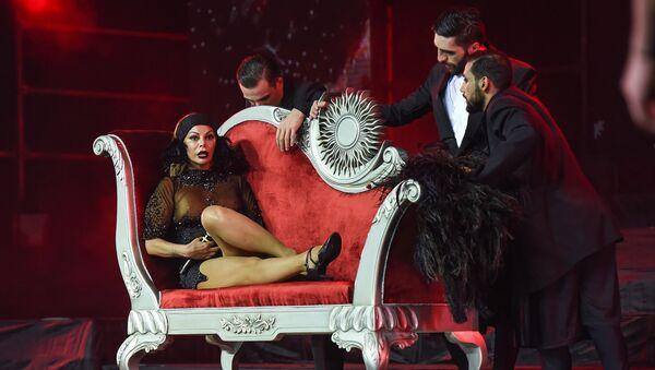 Концерт Айгюн Кязымовой на сцене Crystal Hall в Баку, 23 сентября 2017 года - Sputnik Азербайджан