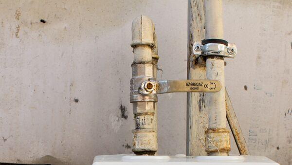 Газовые вентили, фото из архива - Sputnik Азербайджан