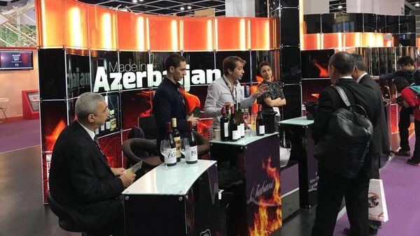 "Единый стенд ""Made in Azerbaijan"" в Китае - Sputnik Азербайджан"