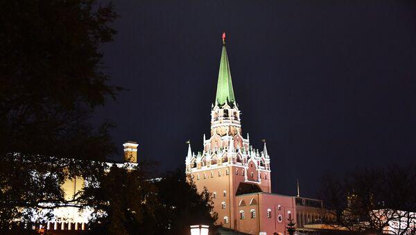 Троицкая башня Московского Кремля - Sputnik Azərbaycan