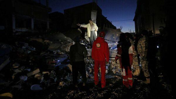 Последствия землетрясения в Иране и Ираке - Sputnik Азербайджан