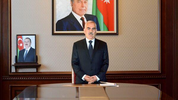 Naxçıvan Muxtar Respublikası Ali Məclisinin Sədri Vasif Talıbov - Sputnik Азербайджан