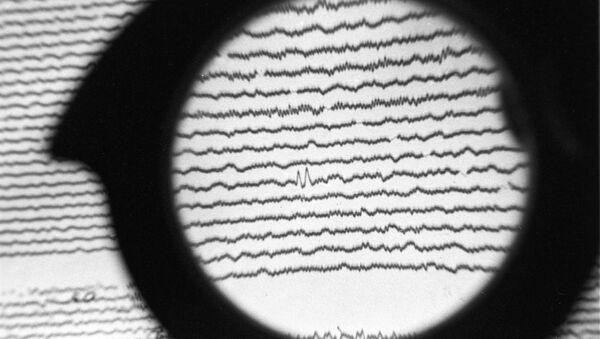 Сейсмограмма, фото из архива - Sputnik Азербайджан