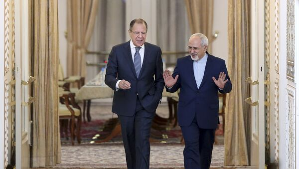 Встреча министров иностранных дел России и Ирана, фото из архива - Sputnik Азербайджан