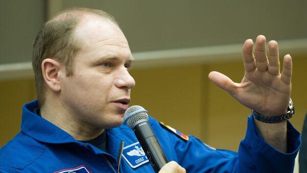 Российский член экипажа ТПК Союз ТМА-10М Олег Котов - Sputnik Азербайджан