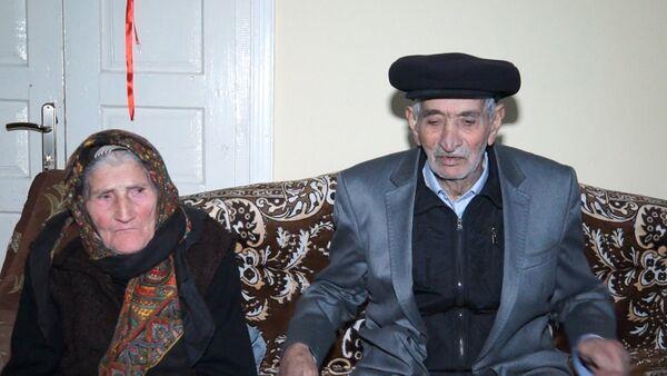 Дед Кямал и бабушка Сарфиназ - Sputnik Азербайджан