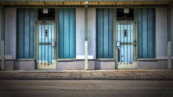 Общественный туалет, фото из архива - Sputnik Azərbaycan