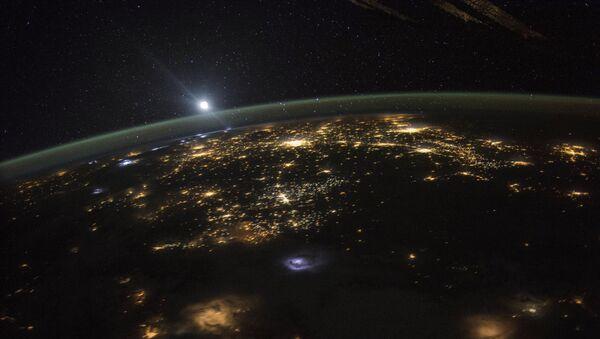 Вид Земли из космоса, фото из архива - Sputnik Азербайджан