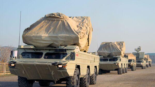 Войска Нахчыванского гарнизона продолжают деятельность в рамках командно-штабных военных игр - Sputnik Азербайджан