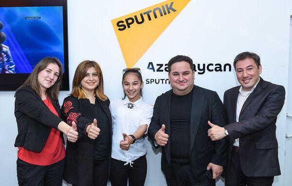 Участница международного детского конкурса вокалистов Ты супер! Хошгедем Мехтиева - Sputnik Азербайджан