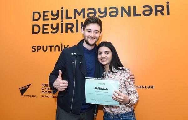 Участница международного детского конкурса вокалистов Ты супер! Парвана Алджанова - Sputnik Азербайджан