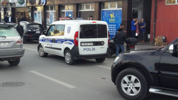 ДТП в Ясамальском районе, на улице Акима Аббасова возле парка Azərsu - Sputnik Азербайджан