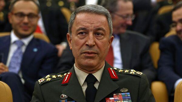 Глава Генерального штаба Турции Хулуси Акар, фото из архива - Sputnik Азербайджан