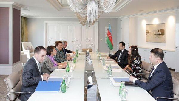 Лейла Алиева встретилась с региональным директором ЮНИСЕФ - Sputnik Азербайджан