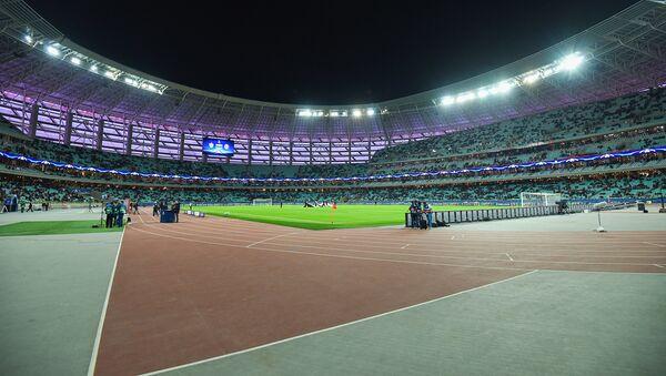 Бакинский олимпийский стадион перед началом матча - Sputnik Азербайджан