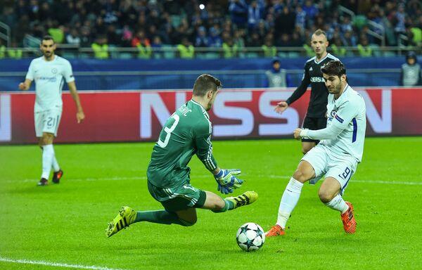 Матч пятого тура группового этапа Лиги чемпионов UEFA между ФК Карабах и ФК Челси - Sputnik Азербайджан
