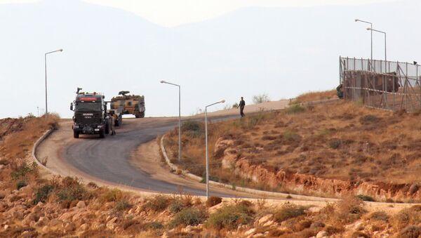Турецкие военные в Сирии, фото из архива - Sputnik Азербайджан