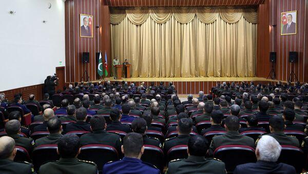 Делегация Пакистана посетила военно-учебные заведения - Sputnik Азербайджан