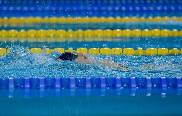 Открытый Чемпионат Азербайджана по плаванию 2017 - Sputnik Азербайджан