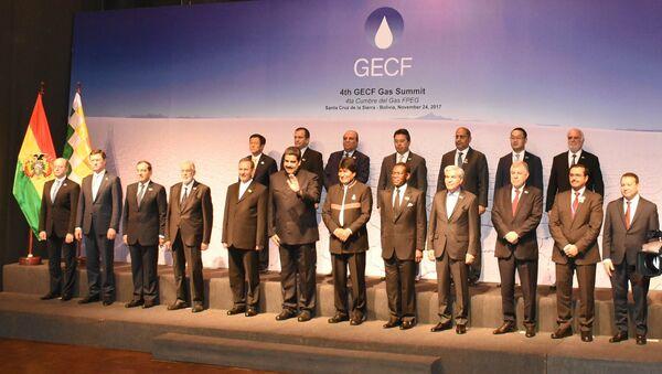 Министр энергетики Азербайджана Парвиз Шахбазов принял участие на Форуме стран — экспортеров газа, проходящего в Боливии - Sputnik Азербайджан
