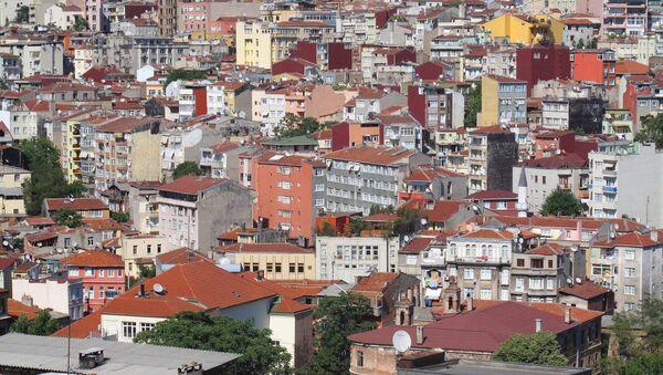 Дома в Стамбуле, фото из архива - Sputnik Азербайджан