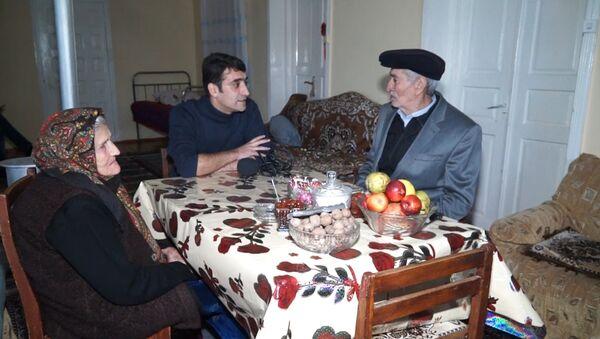 Бриллиантовая свадьба семьи Ахмедовых - 60 лет вместе по жизни - Sputnik Азербайджан