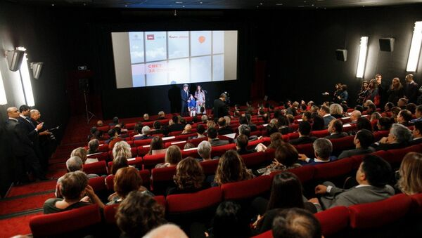 В Москве состоялась презентация документального фильма Свет за окном - Sputnik Азербайджан