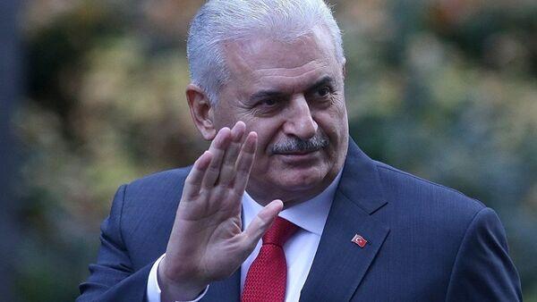 Премьер-министр Турции Бинали Йылдырым, фото из архива - Sputnik Азербайджан