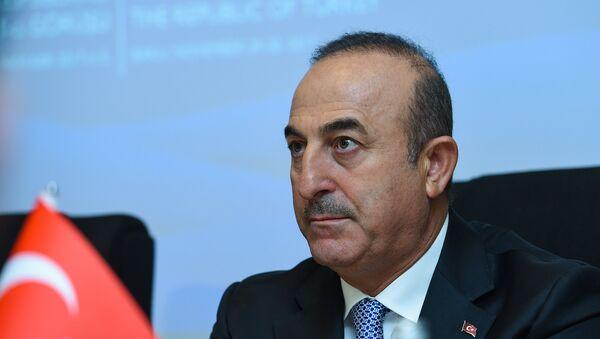 Глава МИД Турции Мевлют Чавушоглу - Sputnik Азербайджан