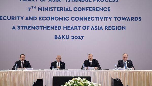 Церемония открытия VII Министерской конференции Безопасность и сотрудничество во имя сердца сильной Азии - Sputnik Азербайджан