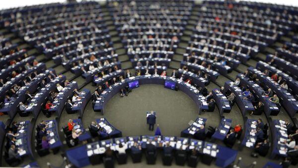 Здание Европейского парламента - Sputnik Азербайджан