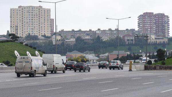 Bakı-Sumqayıt yolu - Sputnik Азербайджан