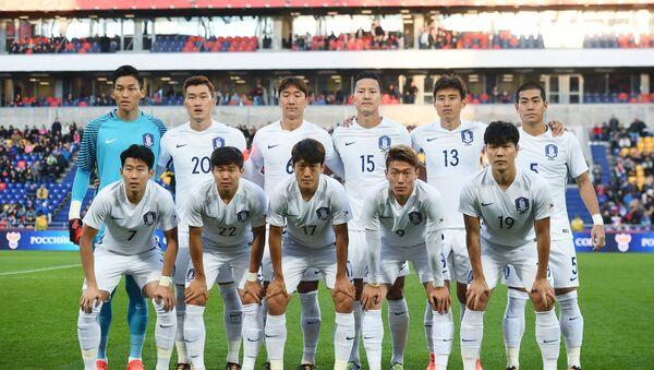 Сборная Южной Кореи по футболу - Sputnik Азербайджан