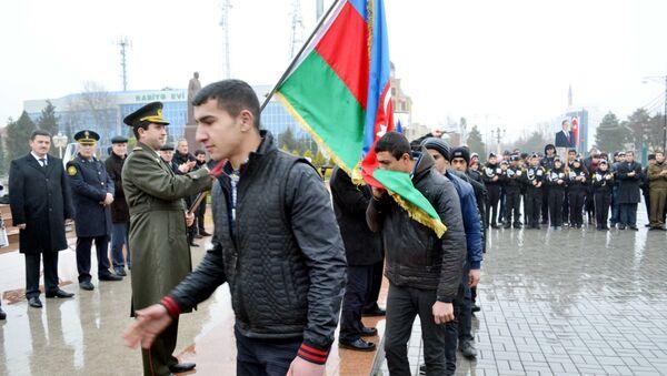 Призывники, фото из архива - Sputnik Азербайджан