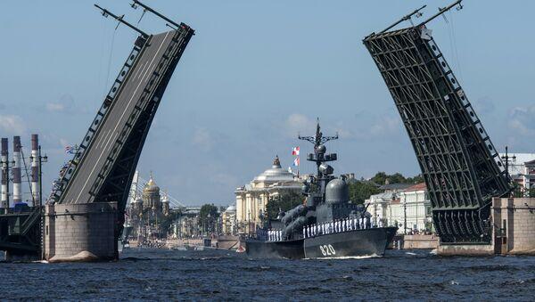 Санкт-Петербург - город-организатор Чемпионата мира 2018 года - Sputnik Азербайджан