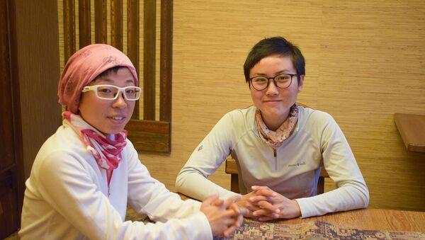 Путешественницы из Гонконга Джои и Рои - Sputnik Азербайджан