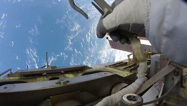 Астронавт NASA снял Землю - Sputnik Азербайджан