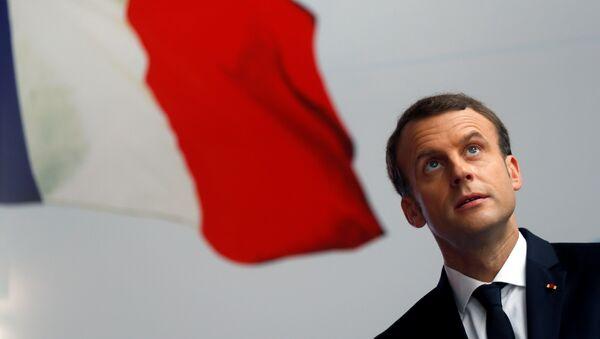 Президент Франции Эммануэль Макрон, фото из архива - Sputnik Азербайджан