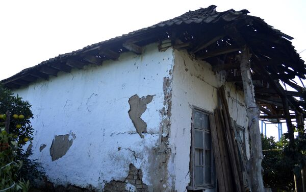 Дом в селе Пенсар, где родился будущий визирь - Sputnik Азербайджан